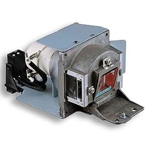 Lámpara de proyector Alda PQ 5J.J4N05.001 para BENQ MX717, MX763, MX764 Proyectores, módulo de la lámpara con la caja