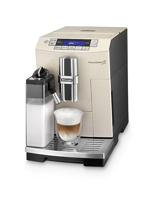 DeLonghi ECAM 28.465.BG - Cafetera semi-automática, 1450 W, 220-240 V, color beige