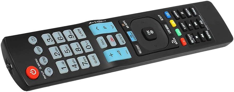 Festnight - Mando a Distancia inalámbrico para televisor LG HDTV, LCD, LED, Plasma y Smart Digital TV, Color Negro: Amazon.es: Electrónica