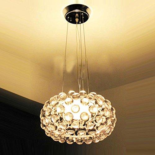 Modern 35cm / 50cm / 60cm Foscarini Caboche Ball Study Room Ceiling Pendant Light Dining Room Chandelier Living Room Pendant Lights (Small) (Caboche Lamp Ceiling Foscarini)