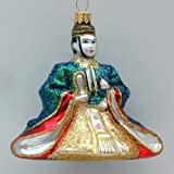 Japanese Emperor Blown Glass Ornament