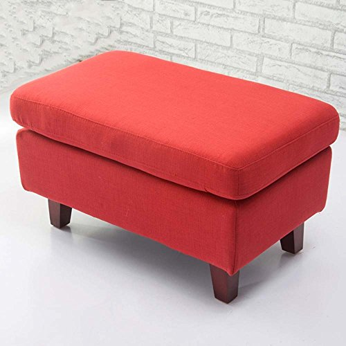 HOMEE Cloth sofa footstool clothing store living room sofa stool sofa pier (multiple colors - Pier Store