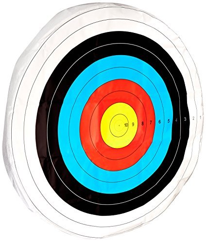 Face Target (American Whitetail S-48 Round Skirted Archery Target Face, Tyvek Fiber Paper, 48