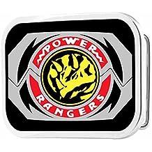 Power Rangers Live Action TV Series Triceratops Logo Rockstar Belt Buckle