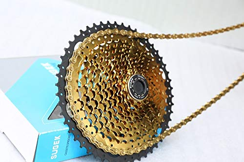 - 11 Speed Cassette 11-50 CYSKY MTB Cassette 11 Speed Fit for Mountain Bike, Road Bicycle, MTB, BMX, SRAM Shiman Sunrace 11 Speed