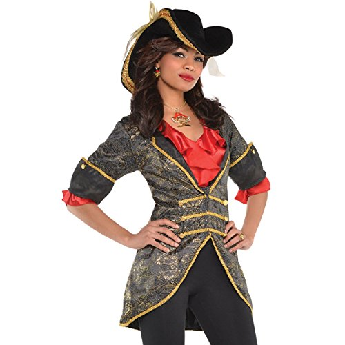 amscan Adult Lady Pirate Jacket ()
