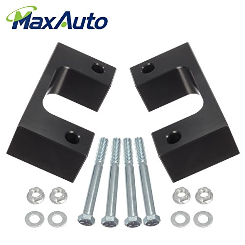 "Chevrolet Silverado 1500 Leveling Kit, MaxAuto 2.5"" Front Leveling Lift Kit for 2007 2008 2009 2010 2011 2012 2013 2014 2015 2016 2017 Chevrolet Silverado 1500 RWD 2WD"