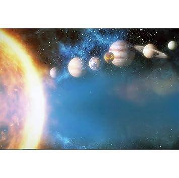 YongFoto 3x2m Vinilo Fondo de fotografía El Universo Paisaje Espacial Dom Tierra Galaxia Telón de Fondo cumpleaños Fotografía Estudio de Foto Fondos ...