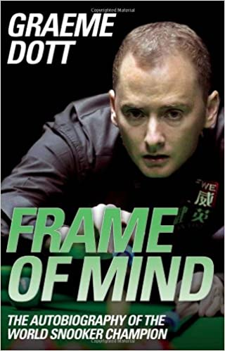 Frame Of Mind The Autobiography World Snooker Champion Amazoncouk Graeme Dott 9781843583462 Books