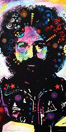 Tomorrow sunny Dean Russo Jerry Garcia Modern Art Decorative Poster Print 24x48 inch Art Silk Poster home Decor