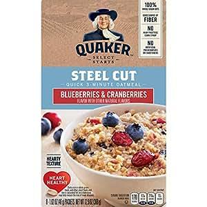 Quaker, Harina de avena cortada lista en 3 minutos: Amazon ...