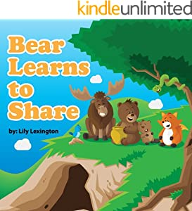 Bear Learns to Share (Fun Rhyming Children's Books)