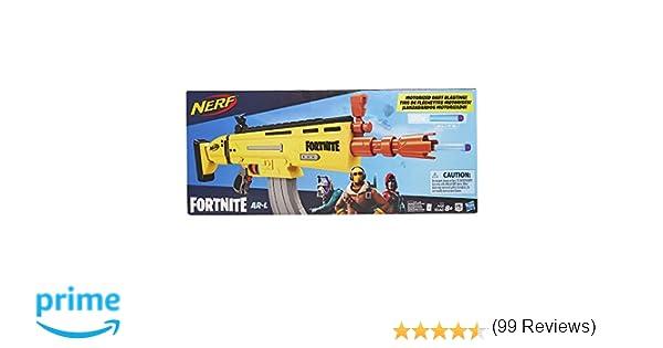 Nerf- Fortnite AR L, Multicolor (Hasbro E6158EU4)