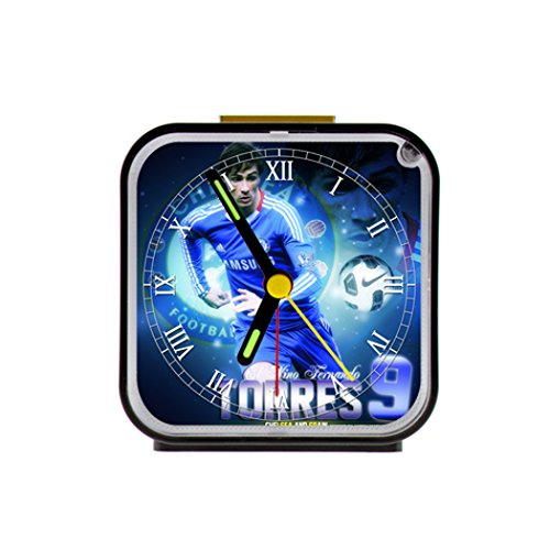 G-Store Fernando Torres T9 Alarm Clock as a Nice Gift Black (Chelsea Alarm Clock)