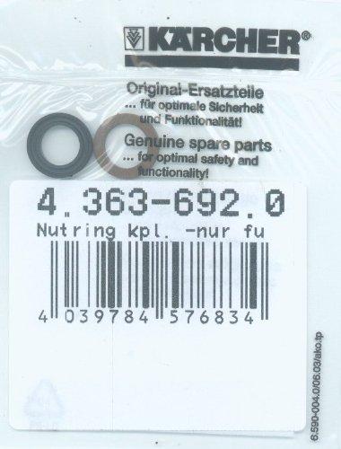 Karcher 4.363-692.0 Grooved Ring Kpl. -Nur Fuer Ersatz-