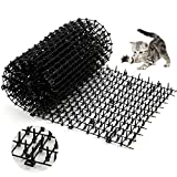5. One Sight Cat Scat Mat with Spikes Anti Cat Mat Indoor Cat Deterrent Outdoor Mat for Garden, Fence, Anti-Cats Network Digging Stopper Prickle Strip Home Pest Repellent 78''