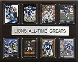 NFL Detroit Lions All-Time Greats Plaque