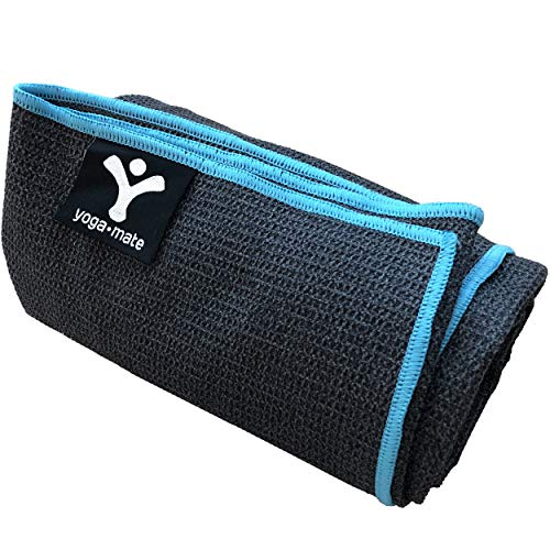 Luxury Sweat Grip Mat Towel: Sticky Grip Yoga Towel By Yoga Mate