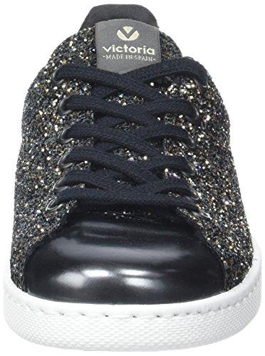 Basket Botas Niños Deportivo Unisex Glitter Victoria antracita Gris UPq6x4Owa