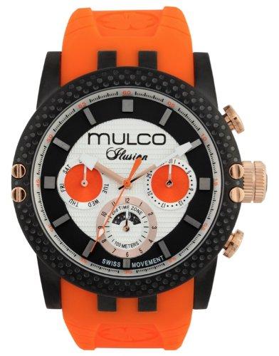 MULCO Unisex MW3-11169-305 Lincoln Illusion Chronograph Analog Swiss Movement Watch