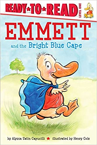 Amazon com: Emmett and the Bright Blue Cape (Ready-to-Reads