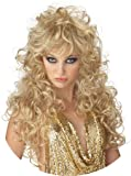 Sexy Long Curly Blonde Wig
