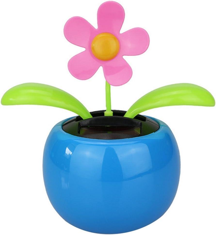 10 Stück Wackelblume Solarblume Solarflower Flip Flap Flower Solar Blume NEU