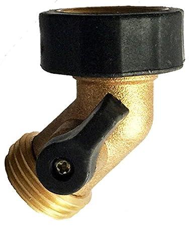 Amazoncom A1003 Heavy Duty Brass Gooseneck Garden Water Tap