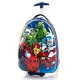 Boys Marvel Superhero Carry On Suitcase Iron Man Hulk Captain America Luggage