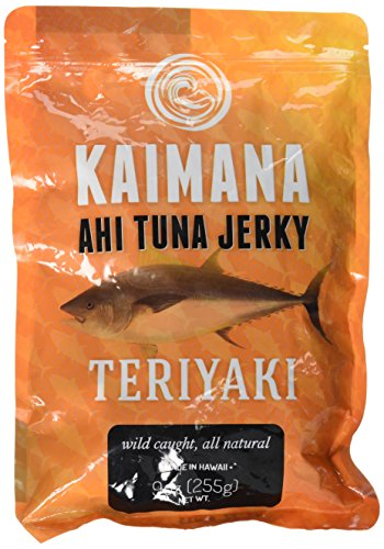 Kaimana Teriyaki Ahi Tuna Jerky 9 Oz Bag