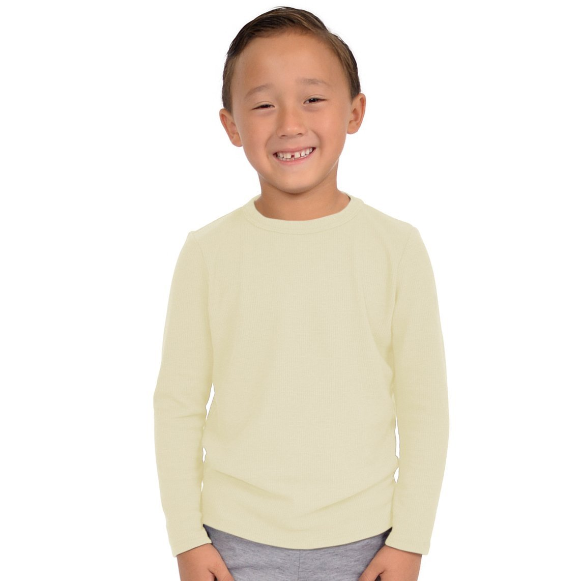 Stretch is Comfort Boys Thermal Long Sleeve Shirt BOYSAW1701-$P