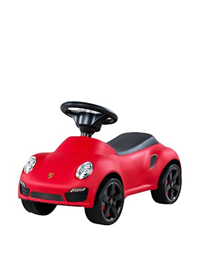 Best Ride On Cars Porsche Turbo Push Car, Red