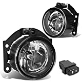 For Mitsubishi Outlander Sport Pair of Bumper Driving Fog Lights + Wiring Kit + Switch (Clear Lens)