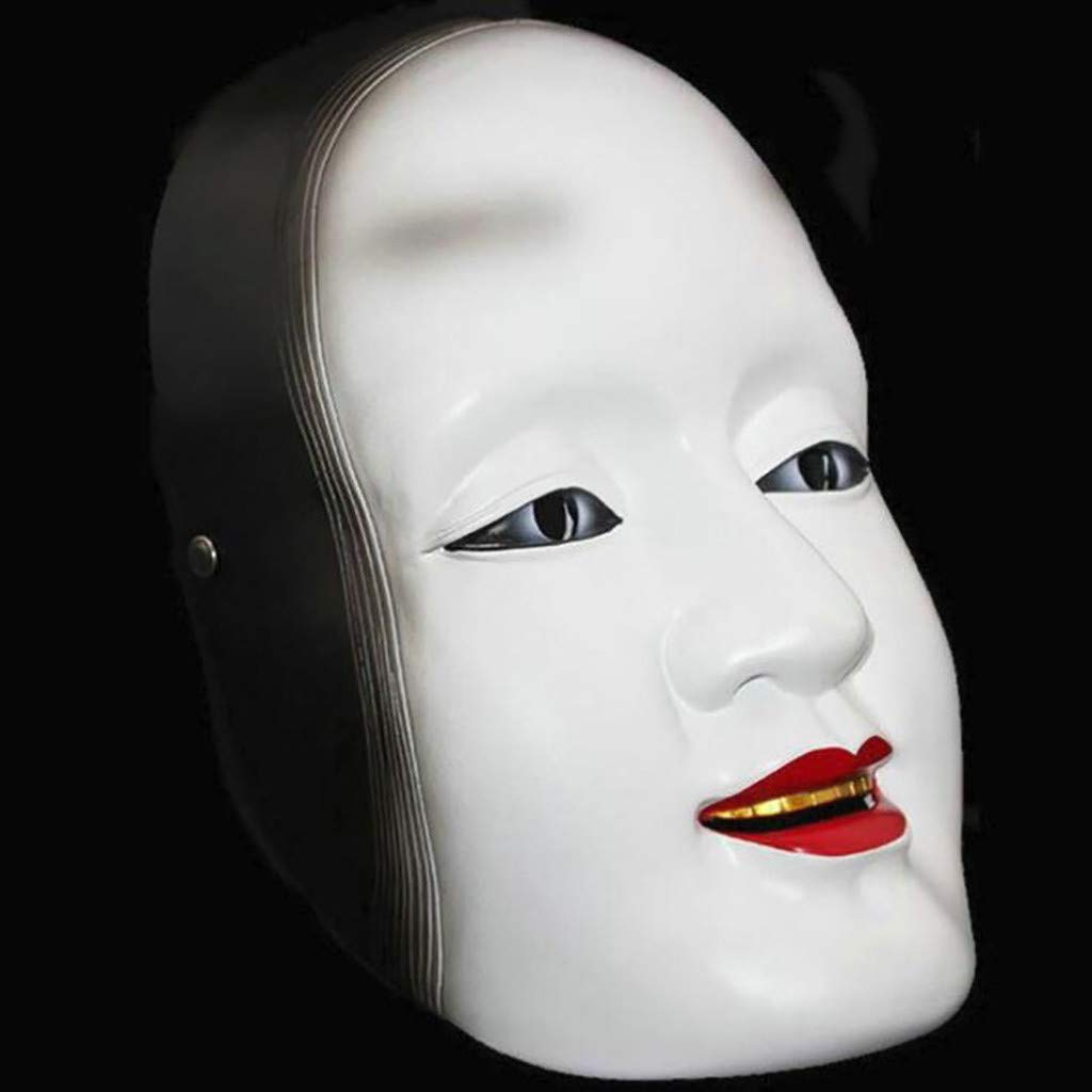 Chirpa Halloween Scary Mask, Cosplay Scary Horrible Mask Face Latex Halloween Masquerade Japanese Woman by Chirpa