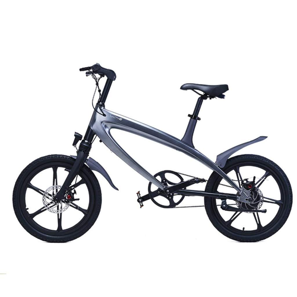 CAKG Elektrische Fahrrad Mountainbike Stadt Mode Smart Blautooth Fahrrad Moped - eingebautes Lithium abnehmbare Stereo Berg einfach,A-36V5.8AH B 36V5.8AH