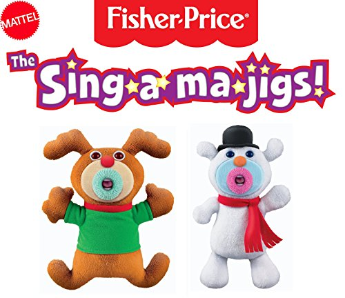 mattel-the-sing-a-ma-jigs-christmas-combination-duo-set-reindeer-and-snowman
