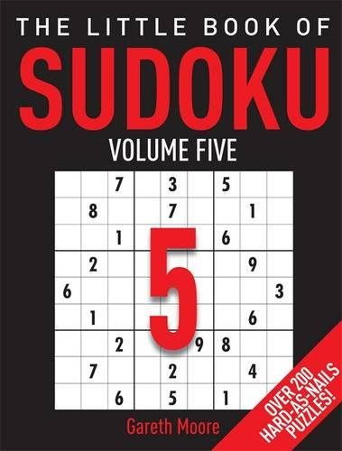 Download The Little Book of Sudoku Volume 5: Hard-As-Nails ebook