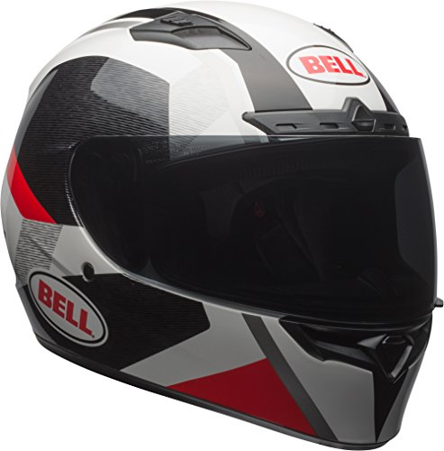 - Bell Qualifier DLX MIPS Full-Face Motorcycle Helmet (Accelerator Gloss Red/Black/White, Large)