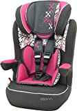 Osann Kinderautositz i - max SP, (9-36 kg), ECE Gruppe 1/2/3, von ca. 9 Monate bis 12 Jahre, mitwachsende Kopfstütze, Corail Framboise pink