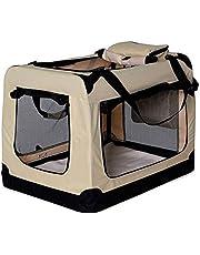 dibea hondentransportbox hondentas opvouwbare transportbox autobox kleine dieren tas
