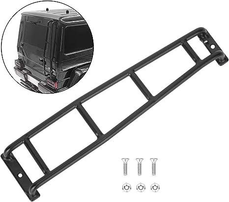 T best Escalera Trasera RC, Metal 1/10 Escalera Trasera para Subir escaleras de Coches RC Accesorios de actualización Compatible con Benz Traxxas TRX4 ...