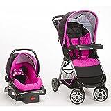 Disney Minnie Pop Travel System Infant Stroller Car Seat Combo