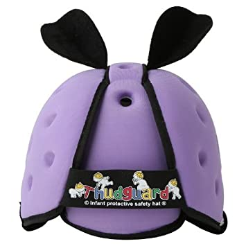 778ce7fa4a3 Amazon.com  Thudguard Infant Protective Safety Hat (Lilac)  Baby