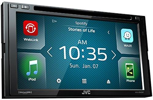JVC KW-V640BT 6.8in Clear Resistive Touch Monitor/WebLink/Bluetooth /13-Band EQ/JVC Remote App (Renewed)