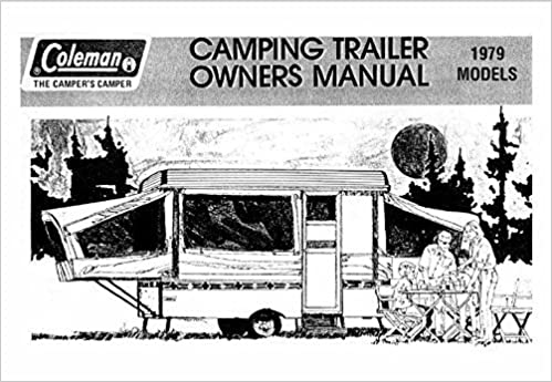 COLEMAN Popup Trailer Owners Instruction Manual-1979