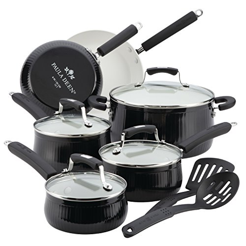 Paula Deen Savannah Collection Aluminum Nonstick 12-Piece for sale  Delivered anywhere in USA