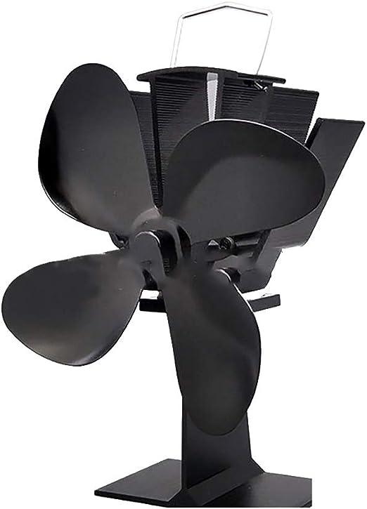 LEDGOO Ventilador de Horno con Funcionamiento silencioso, 4 aspas ...