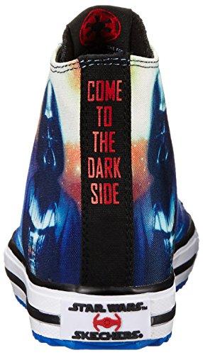 Skechers Kids Star Wars Jagged Starfleet Lace-Up Sneaker (Little Kid/Big Kid) Black/Multi