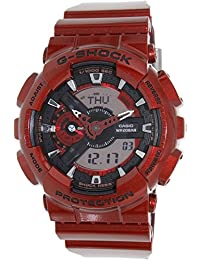 Casio Men's G-Shock GA110NM-4A Red Resin Quartz Watch