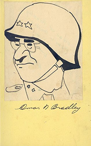 General Omar N. Bradley - Caricature -